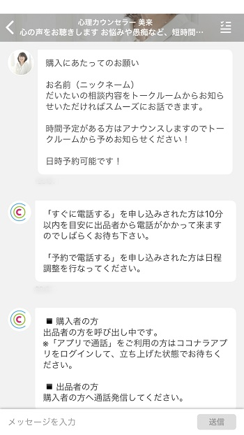 ココナラ体験02