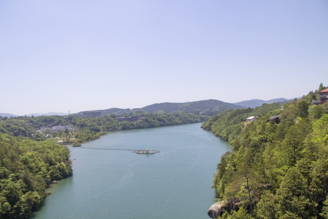 岐阜県『恵那峡』